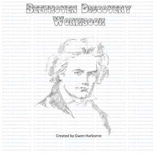 Beethoven Discovery Workbook