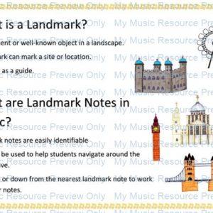 Landmark Notes Free Printable