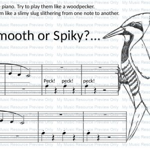 Smooth or Spiky from Fun, Games and Party Pieces for Beginner Piano