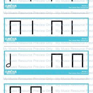 4/4 Rhythm Flashcards | Set 1