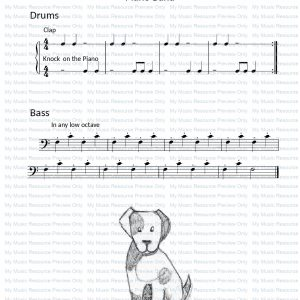 Short Legged Benjy from Fun, Games and Party Pieces for Beginner Piano