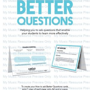 Ask Better Questions in Lessons