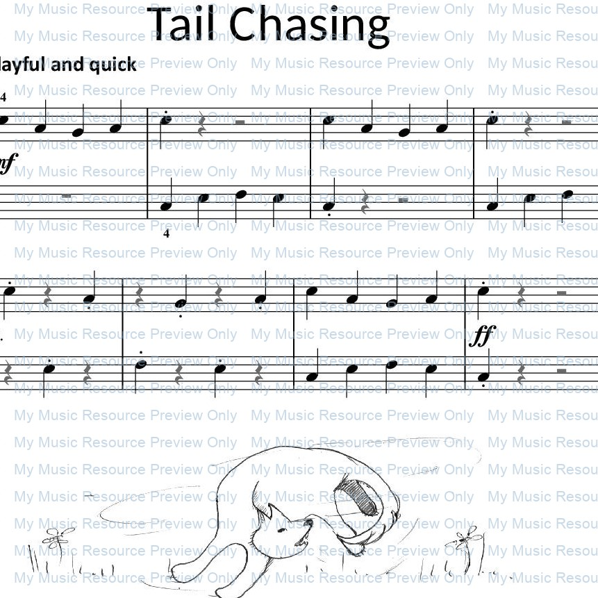 Nosing around and Tail Chasing from Fun, Games and Party Pieces for Beginner Piano