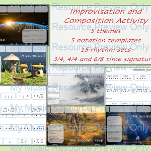 Improvisation and Composition Activity Series 2