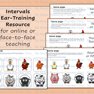 Intervals – Ear Training on the Farm