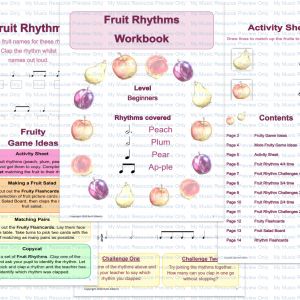 Fruit Rhythm E-Book (Beginners)