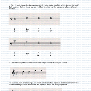 Three Chord Piece Composing Activity