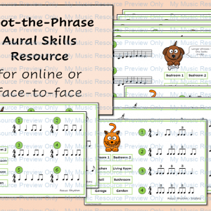 Spot the Phrase – Aural Skills Resource