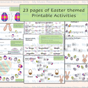 Easter Resource Collection of Printable Activities