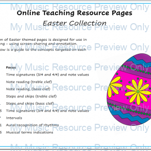 Easter Resource Collection for Online Teaching