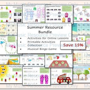 Summer Resources Bundle – 15% Saving