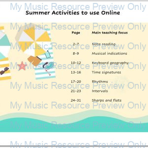 Summer Activities to use Online