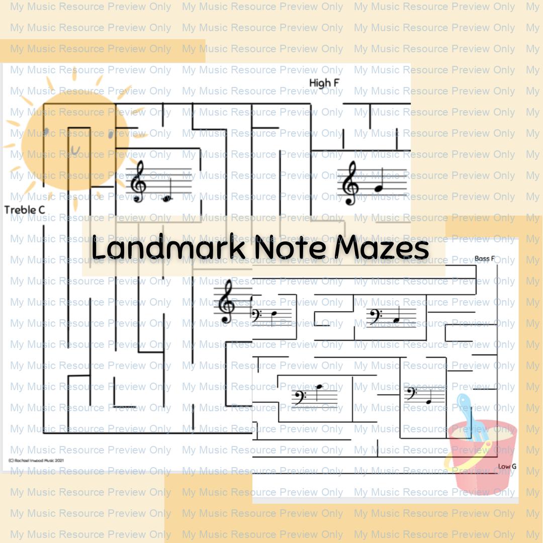 Landmark Notes Maze