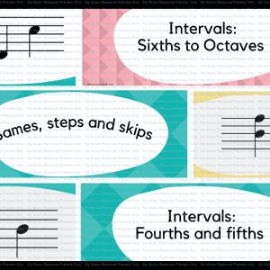 Interval Flashcard Big Bundle Pack