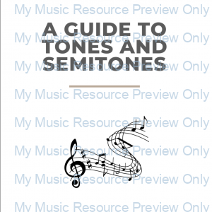 A Guide To Tones and Semitones