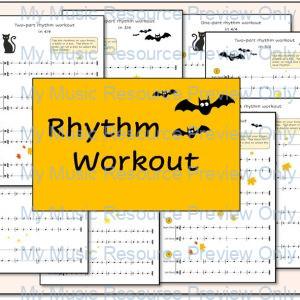 Autumn Rhythm Workout Resource