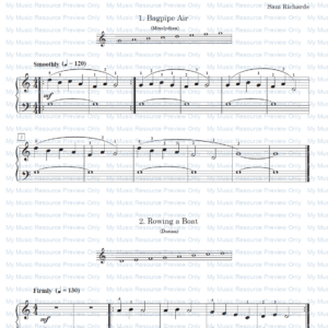 14 Modal Melodies with Drones, by Sam Richards