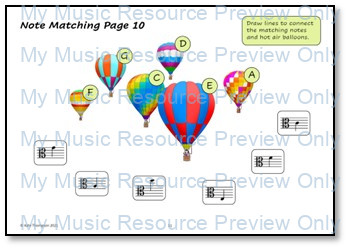 Alto Clef Note Recognition Resource Pack